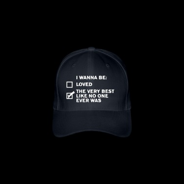 I want funny sayings - Flexfit Baseball Cap