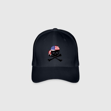 American Pirate - Flexfit Baseball Cap