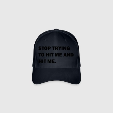 Hit me! - Flexfit baseballcap