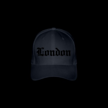 London lettering - Flexfit Baseball Cap