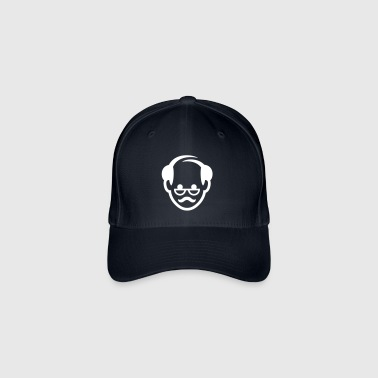 Face Of A Grandfather - Flexfit Baseball Cap