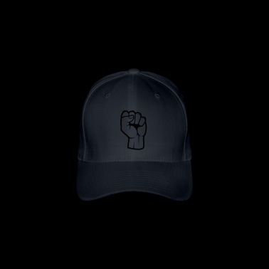 Poing Revolutionnaire Design - Casquette Flexfit