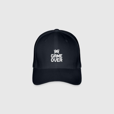 game over with sprite - Flexfit Baseball Cap
