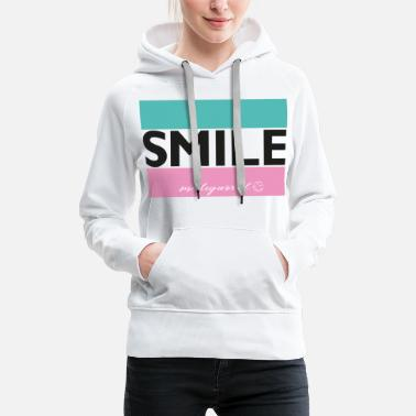 Smileyworld SmileyWorld Smile. - Premium hoodie dam