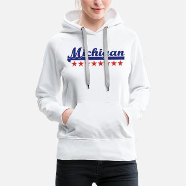 Michigan michigan - Frauen Premium Hoodie