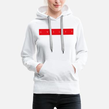 Deutscher Boxer RED GVILTY - Frauen Premium Hoodie