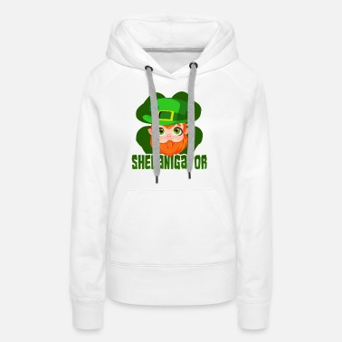 March St Patricks Day Party Shirt Shamrock Beer Gift - Women's Premium Hoodie