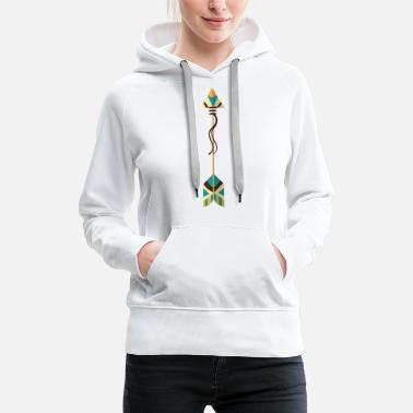 Form arrow - Women's Premium Hoodie