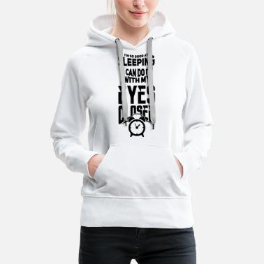 Sleep In Sleep - Women's Premium Hoodie