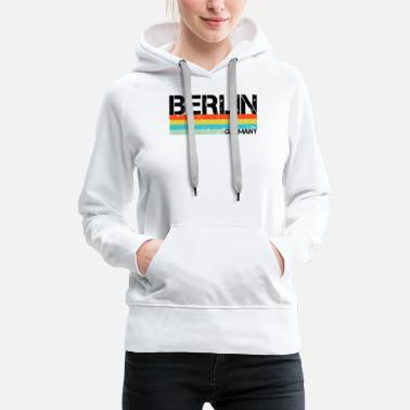 Federal Capital Berlin - Women's Premium Hoodie