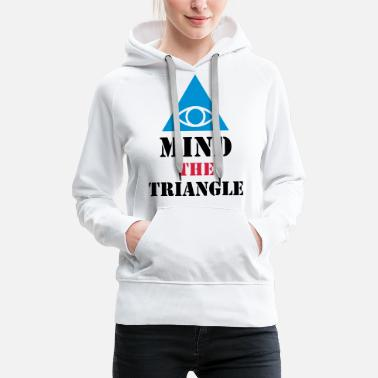Illuminati MIND THE TRIANGLE - ILLUMINATI - Frauen Premium Hoodie