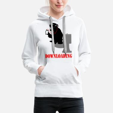 Download downloading - Women's Premium Hoodie