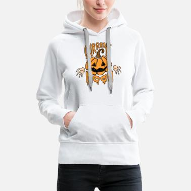 Smiley My Current Mood | Halloween Design - Frauen Premium Hoodie