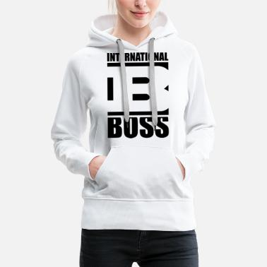Boss international_boss_ge1 - Sweat à capuche premium Femme