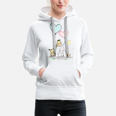 Funny Animals Funny animals - Women's Premium Hoodie