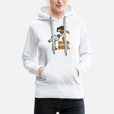 Scoop C is funny for Cool Funny - Women's Premium Hoodie