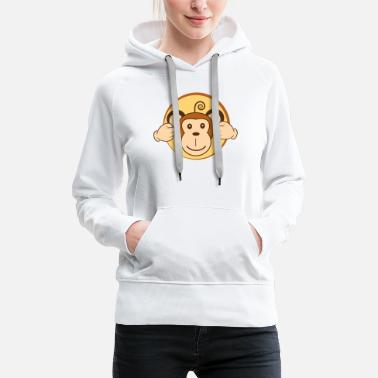 Nose I do not hear - Women's Premium Hoodie