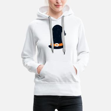 witch hat - Women's Premium Hoodie