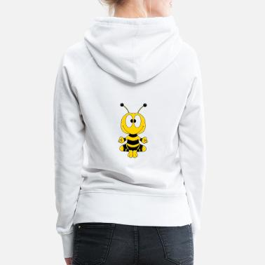 Relax Funny Bee - Yoga - Relax - Chill - Animal - Fun - Sweat à capuche premium Femme