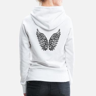 2reborn 2reborn wings angel wings angel wings angel wings - Women's Premium Hoodie