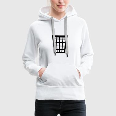 Trash (cheap!) - Sweat-shirt à capuche Premium pour femmes