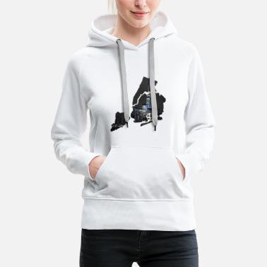 Hudson New York City - Women's Premium Hoodie