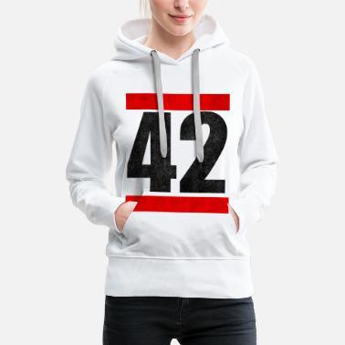 Cinema 42 The Answer To Everything The answer to everything - Women's Premium Hoodie