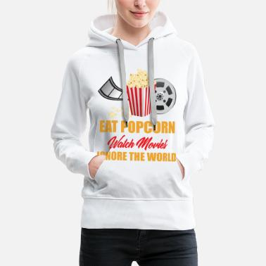 Hollywood Movies Cinema Action Movie Horror Movie Movie Gift - Women's Premium Hoodie