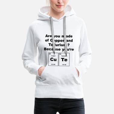 Cute Sweet Sweet Chemistry Elements - Women's Premium Hoodie