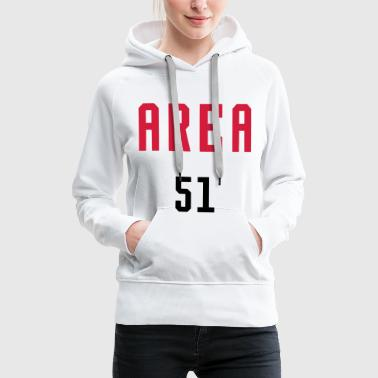 AREA 51 - SIMPLE - Frauen Premium Hoodie