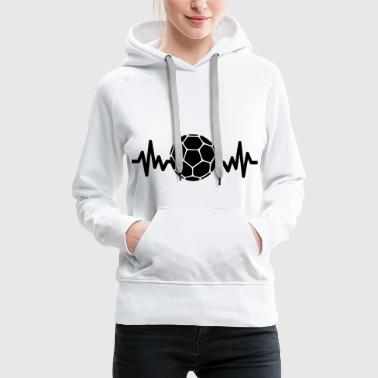 Hand Ball Handball is life - Frauen Premium Hoodie