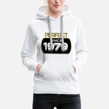 Bursdag Perfect since 1979 - Women's Premium Hoodie