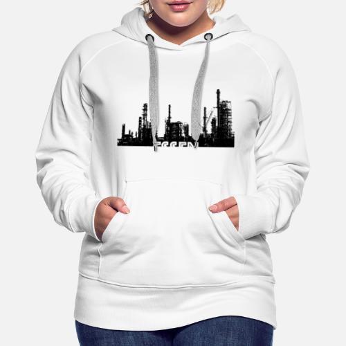 Essen Shirt Sweat à capuche premium Femme   Spreadshirt 7ef6f3af32e9