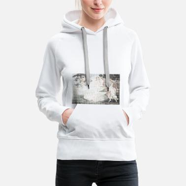 Graphic Art the birth of venus - Women's Premium Hoodie