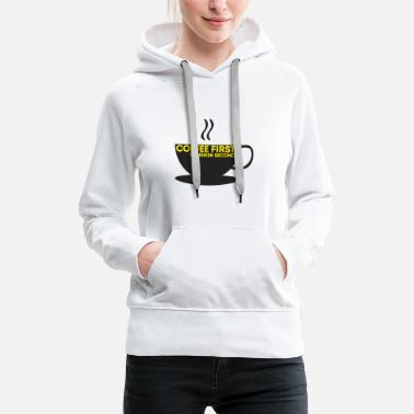 July Coffee First Concerns Second - FDP JuLis Liberal - Women's Premium Hoodie
