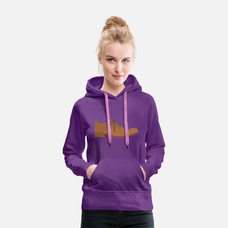 save off eb1a2 c21da Schuh Schuhe Stiefel Elegant Anzug Herren Schnüren Frauen Premium Hoodie -  Purple