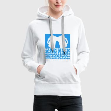 Bier Oktoberfest in Bavaria Munich Germany - Frauen Premium Hoodie