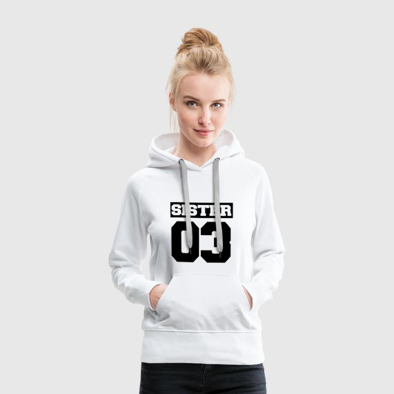 BROTHER - SISTER SHIRT - SIBLING SHIRT! - Women's Premium Hoodie