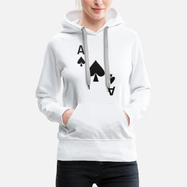 Ace Of Spades Ace of Spades Playing Card Cards Game Costume Shirt - Women's Premium Hoodie