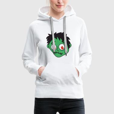 Halloween Monster Zombie Horror - Women's Premium Hoodie