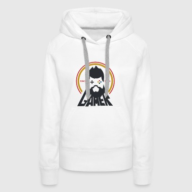 Video Games Gamer Controller Day1 Player Online - Women's Premium Hoodie