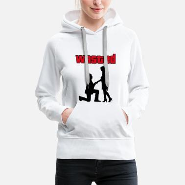 Gta Gaming wedding humor - Women's Premium Hoodie