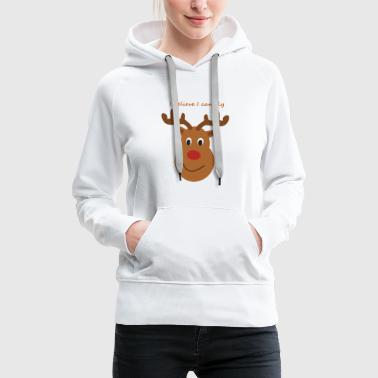 Isle of Rudolph by Isles of Shirts - Frauen Premium Hoodie