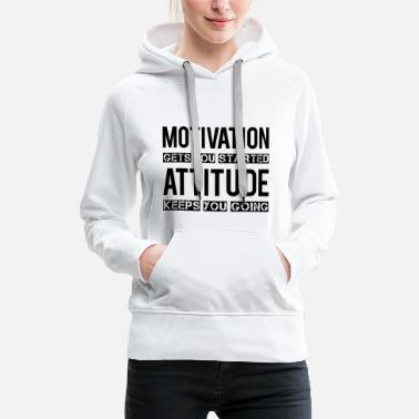 Motivation Motivation - Women's Premium Hoodie