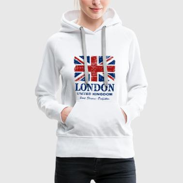 Jack Union Jack - London - Vintage Look  - Sweat-shirt à capuche Premium pour femmes
