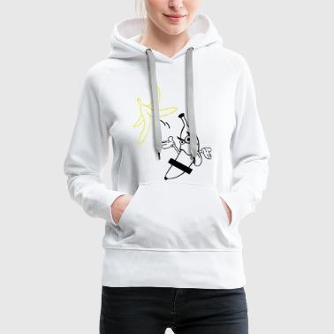 striptease banana sex - Women's Premium Hoodie