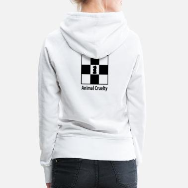 animal cruelty - Women's Premium Hoodie