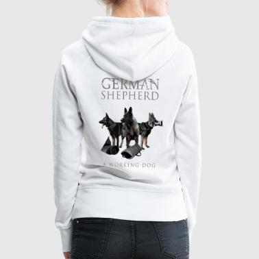 German Shepherd Dog - Women's Premium Hoodie