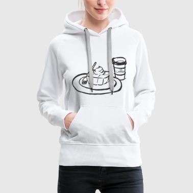 coffee and cake - Women's Premium Hoodie