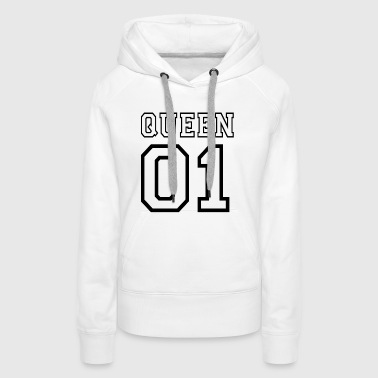 quePARTNERSHIRT - Queen 01 - Premiumluvtröja dam